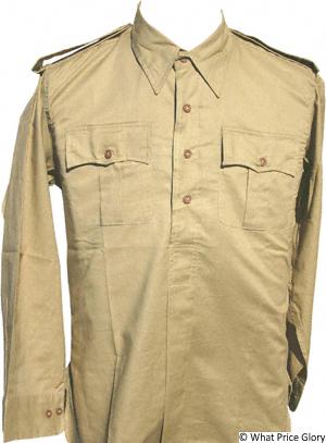 What Price Glory - UK WWII Aertex Desert Shirts