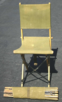 What Price Glory Uk Wwii Folding Camp Chair Original