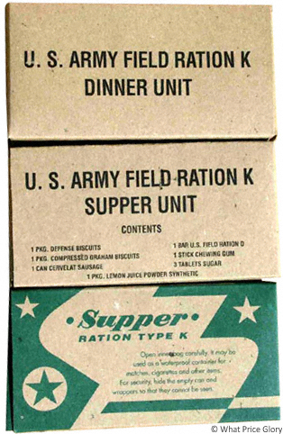 What Price Glory Us K Ration Boxes Repro