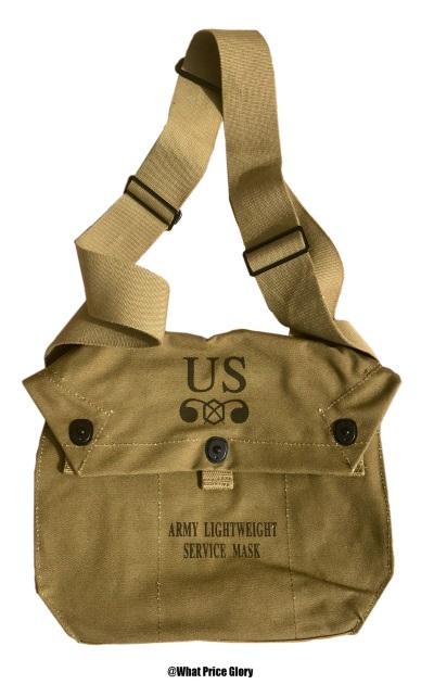 Assault Gas Mask Bag Reproduction U.S