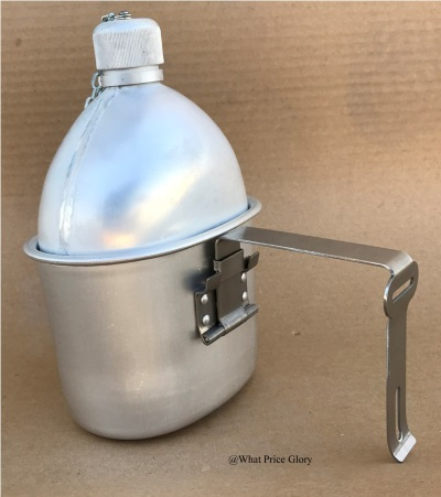 What Price Glory - US M1910 Canteen with Cup (Reproduction)