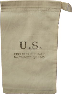 An exact copy of this rare bag that was probably the first thing a GI lost in the field. Now you have a means of keeping your tent pegs together and not ...  sc 1 st  What Price Glory & What Price Glory - US Tent Peg Bag