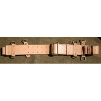 Canadian 1916 Pattern Leather Equipment Belt
