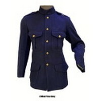 British Blue Wool Patrol Jacket