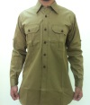 Canadian Pattern Khaki Drill Shirt