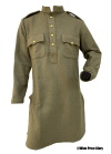 Indian Army Khaki Wool Kurta