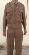 UK Officer Wool Battledress Jacket and Trousers (Package)