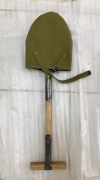 US M1910 Entrenching Tool Carrier for T-handle Shovel in Pea Green