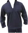 US Navy Blue Wool Winter Undress Middy Blouse (Improved length 2018)