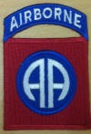 US Insignia 82nd Abn Div