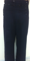 US Navy Blue Wool Winter Trousers